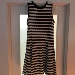 Black and white spring/summer dress